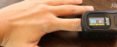 oxímetro de dedo, coração, batimentos