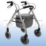 Andador Com 4 Rodas Aluminio Comfort Praxis   SL-500