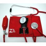 Aparelho De Pressão Com Estetoscópio Vermelho Bic