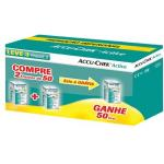 Accu Chek Active Roche Com 50 Tiras Leve 3 Pague 2