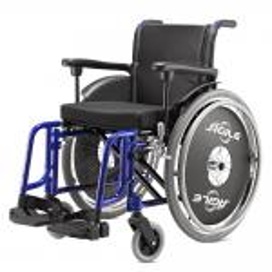 Cadeira Rodas Agile Jaguaribe 44 AZUL METAL