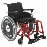 Cadeira Rodas Ágile 44 Vermelho Metalico Jaguaribe 44 VERM METAL
