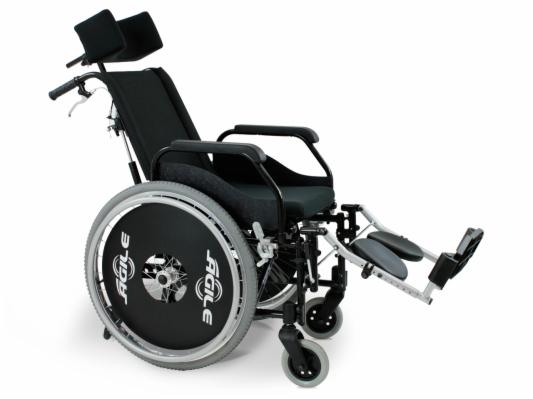 Cadeira Rodas Ágile Reclinável 44 Preta Jaguaribe | Santa ...