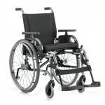 Cadeira Rodas Taipu 40 cm Prata Jaguaribe