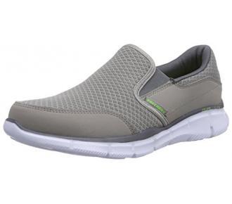 (Sl)Sapato Persistent Cinza Skechers 51361 Xxm43