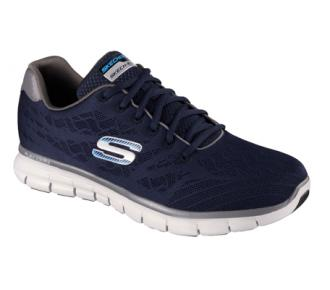 (T)Sapato Synergy Marinho Skechers 51524 Xxm40