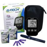 (F)Medidor De Glicose Free Lite C/100 Tiras G-Tec   TTFL100KT