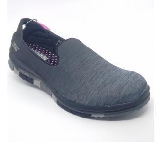 (T)Sapato Go Flex Cinza Skechers 14018 Xxf37