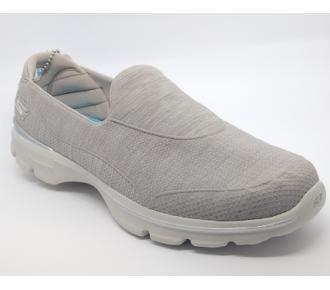 (F)Sapato Go Walk 3 Areia Skechers 14046 Xxf34
