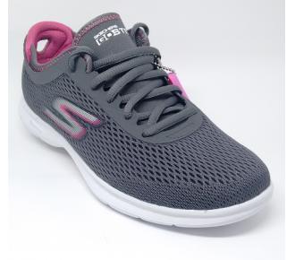(Sl)Sapato Go Step Cinza Skechers 14211 Xxf34