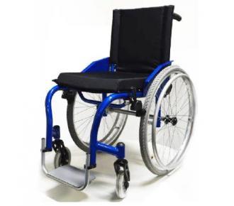 (B)Cadeira Rodas Star Lite 40 Preta Fosca Ortobras