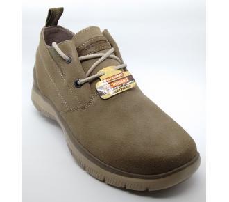 (F)Sapato Hinton Franken Bege Skechers 64370 Xxm41