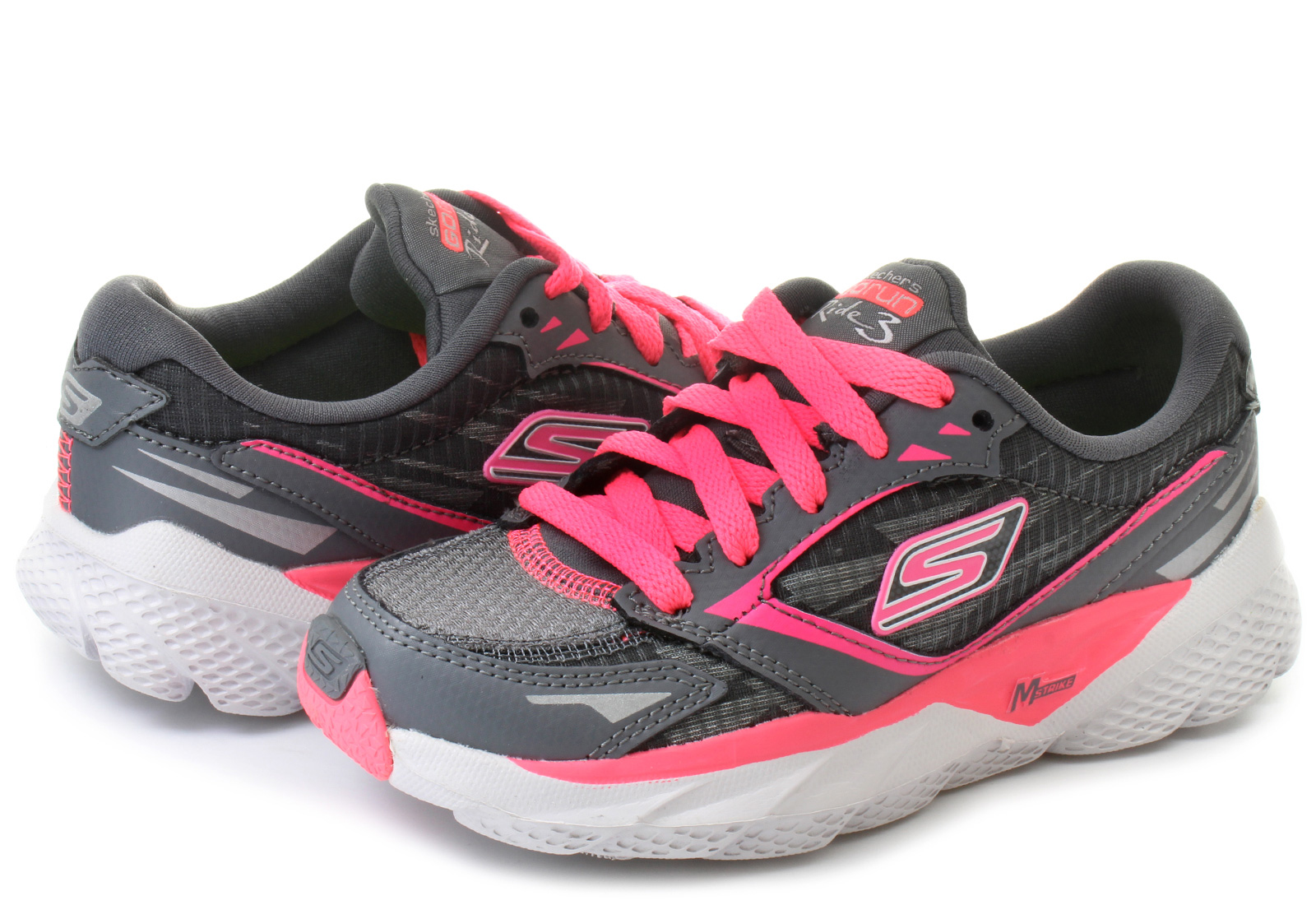 de7287ec36a Tenis Skechers Go Run Ride 3 80635l Infantil