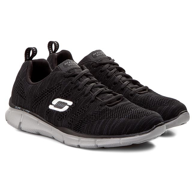 d1caf864804 Tenis Skechers Equalizer Mental Clarity 51387 Masculino 38 CINZA BKGY.  Ref.  1796300. Fotos. Previous. Foto 1 ...