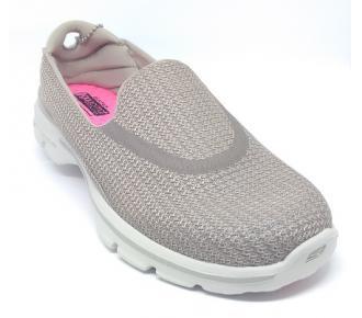 (F)Sapato Go Walk 3 Areia Skechers 13980 Xxf39