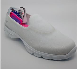 (F)Sapato Go Walk 3 Branco Skechers 13982 Xxf37