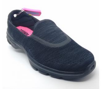(T)Sapato Go Walk 3 Preto Skechers 13987 Xxf37