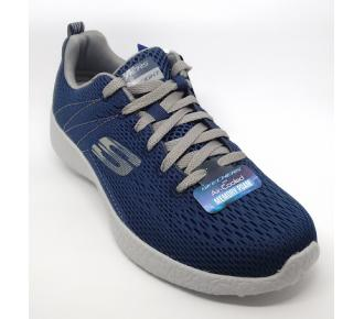 (F)Sapato Burst Marinho Skechers 52108 Xxm43