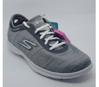 (T)Sapato Go Step Cinza Skechers 14227 Xxf36