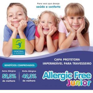 (T)Capa Travesseiro Infantil Alg/Pvc 30x40 Alergic   7627