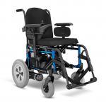 Cadeira de Rodas Motorizada E5 Preta larfura 42 cm Ortobras