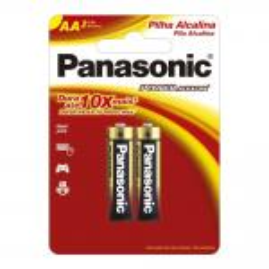 Pilha Alcalina Pequena 2 Unidades Aa2 Panasonic   1710