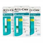 Fitas Para Glicemia 150 Unidades Accu Chek Active