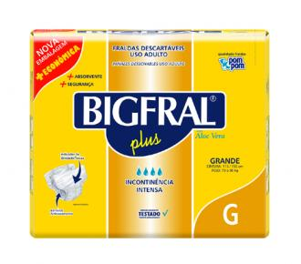 Fralda Plus Grande Bigfral