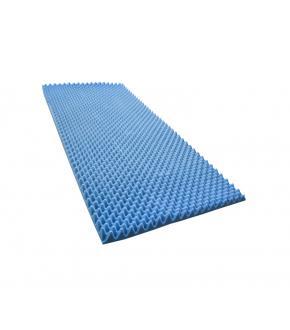 Colchao Caixa De Ovo Solteiro D-28 190x80x6 Cm Azul