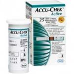 Accu Chek Active Roche Com 25 Tiras