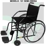 (B)Cadeira Rodas Semi-Obeso 101 Cds
