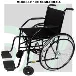 (F)Cadeira Rodas Semi-Obeso 101 Cds
