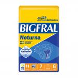 Fralda Noturna Grande Bigfral