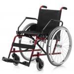 (F)Cadeira Rodas Cantu Plus 42 Cm Vinho Jaguaribe