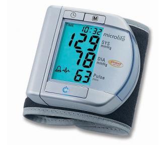 Aparelho De Pressão Digital Pulso Prata Microlife