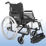 Cadeira Rodas Comfort Aro 24 Aluminio Praxis 40 PRETO SL7100