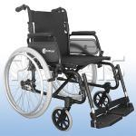 Cadeira Rodas Comfort 40 Sl7100 Aluminio Praxis 46 PRETO SL7100