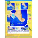 Calcanheira Silicone Ponto Azul 1002 P Ortho Pauhe   1002