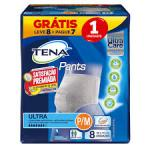 FRALDA TENA PANTS ULTRA MEDIO LEVE 8 PAGUE 7
