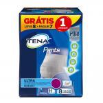 Fralda Tena Pants Ultra Medio Leve 8 Pague 7