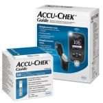 Accu Chek Guide Roche Com 50 Tiras Ganhe Kit