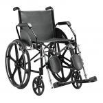 (F)Cadeira Rodas 1016 Courvin Pi Preta Jaguaribe